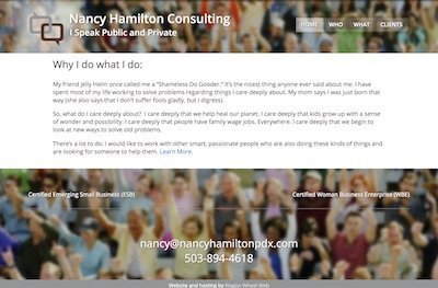 Nancy Hamilton Consulting