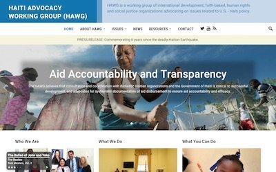 Haiti Advocacy Working Group