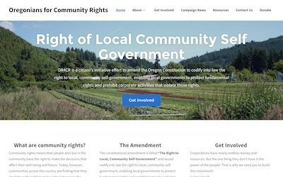Oregonians for Community Rights